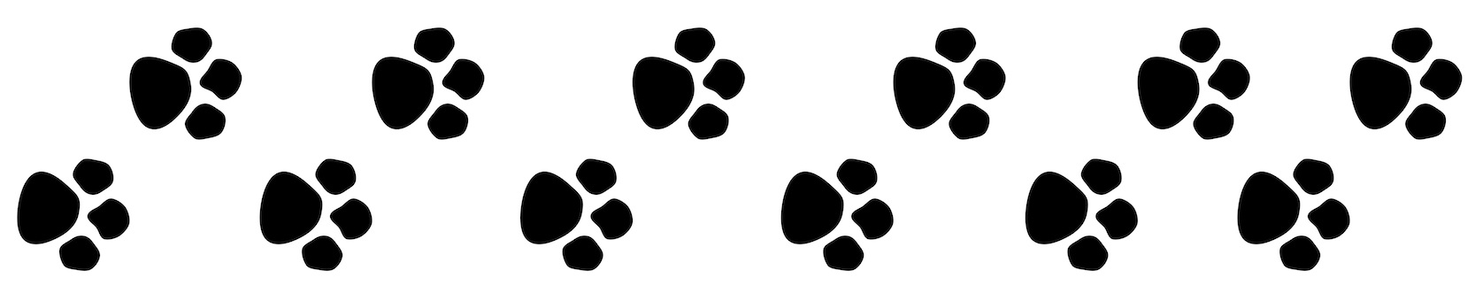 Pawprint clipart banner, Pawprint banner Transparent FREE for download on WebStockReview 2020