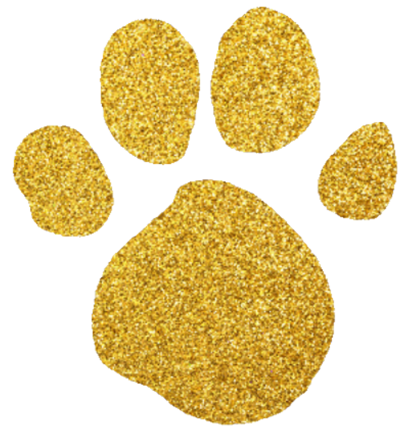 The new gold blue. Pawprint clipart blue's clue