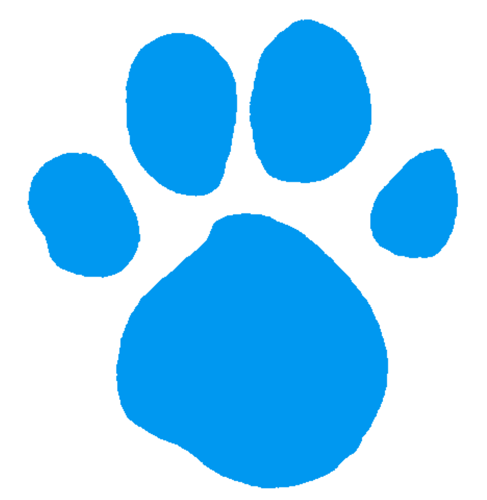 Pawprint clipart blue's clue. Blue s light clues