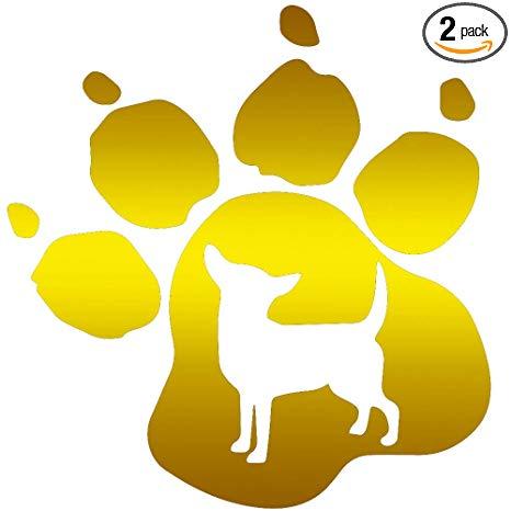 Amazon com angdest dog. Pawprint clipart chihuahua