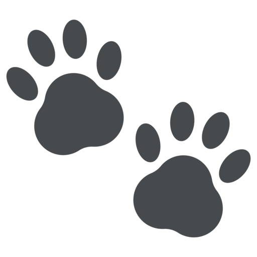 Images gallery for free. Pawprint clipart emoji