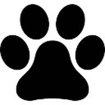 Picture . Pawprint clipart high resolution