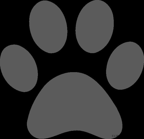 Paw print page of. Pawprint clipart jaguar