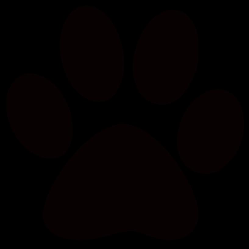 Sloth paw print free. Pawprint clipart jaguar