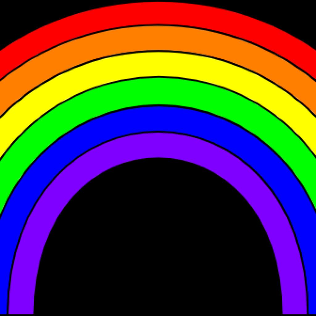 Pawprint clipart rainbow. Images clip art hand