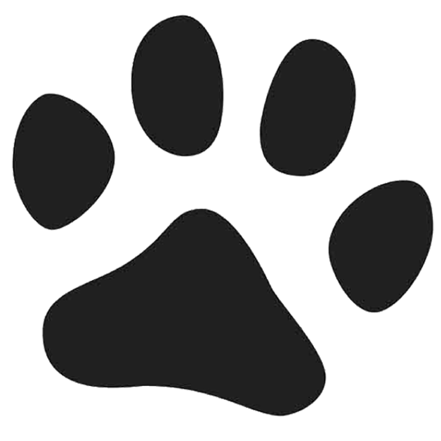 Free paw print download. Pawprint clipart silhouette