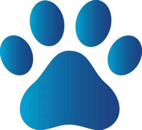 Dog paw print clip. Paws clipart