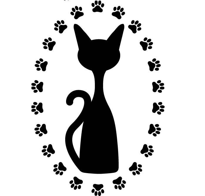 Paw free prints lost. Paws clipart domestic cat