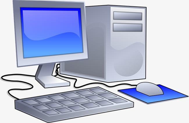 Personal computer desktop png. Pc clipart