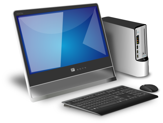 Pc clipart basic computer. Clip art free to