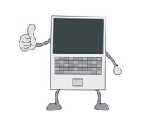 Computers animated gifs . Pc clipart computer animation