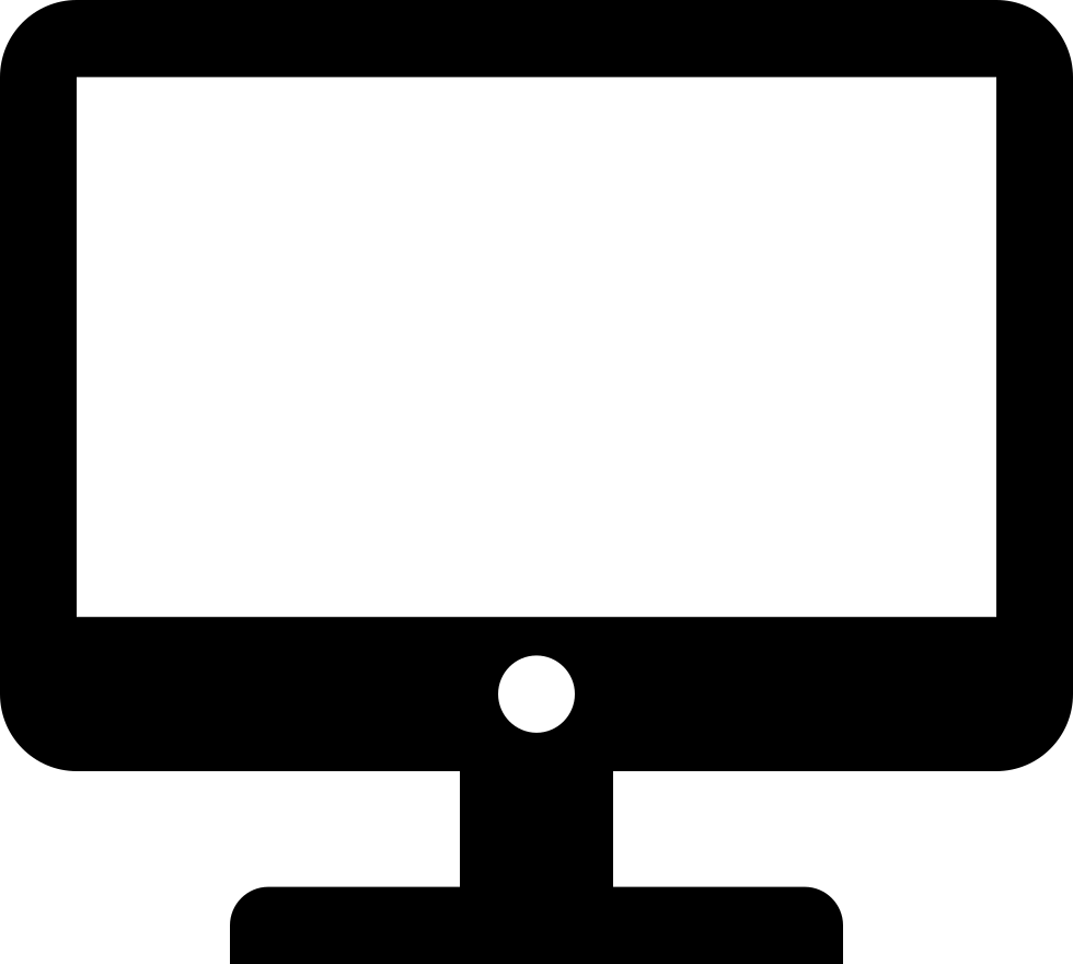 Pc clipart computer terminal. Svg png icon free