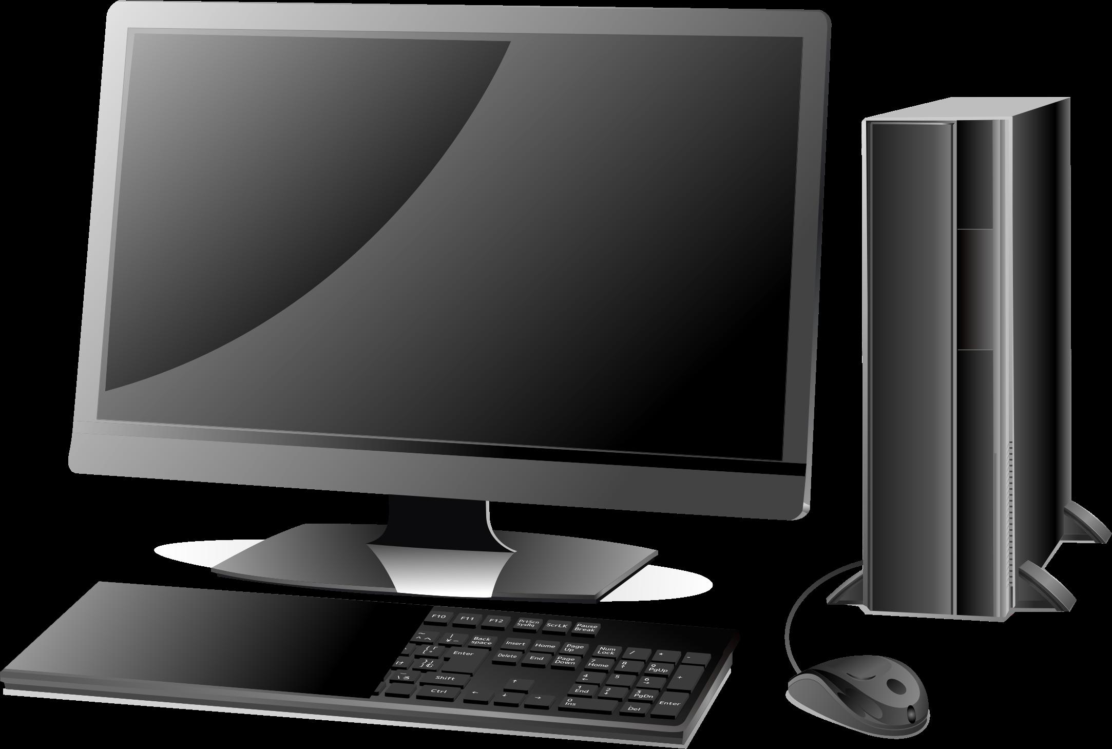 Pc clipart desktop. Computer big image png