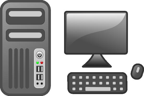 Free cliparts download clip. Pc clipart desktop