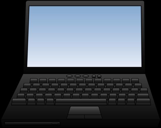Pc clipart notebook. Laptop computer design free