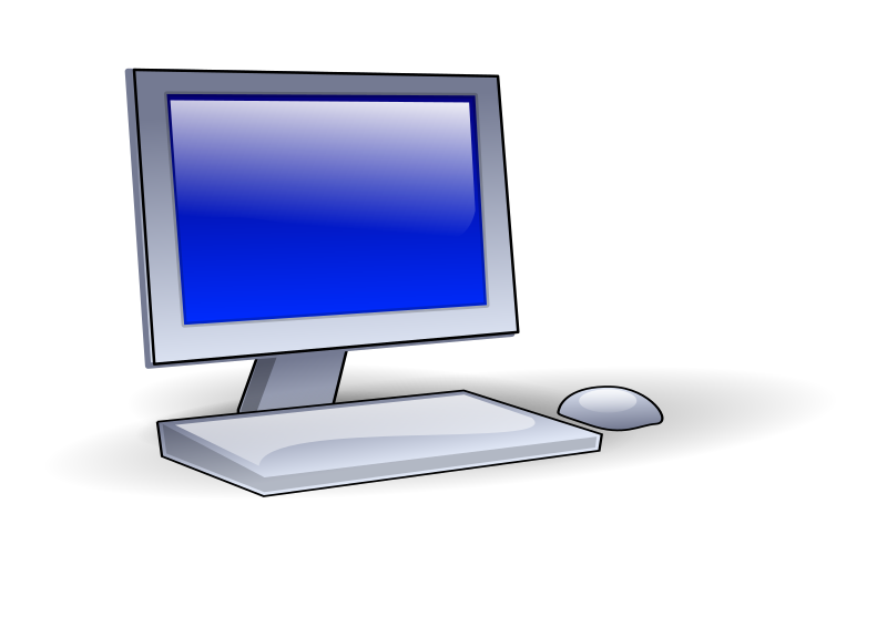 collection of computer. Pc clipart thin client