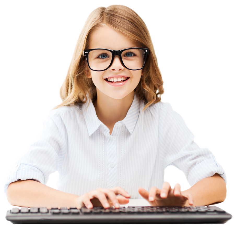 Student png transparent images. Pc clipart typing