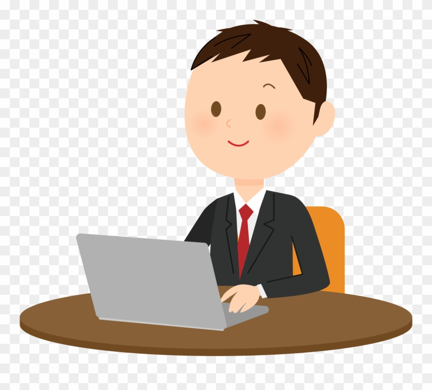 Pc clipart typing. Computer user png transparent