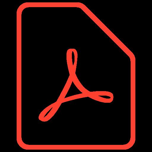 Filetypes by igor verizub. Pdf icon png