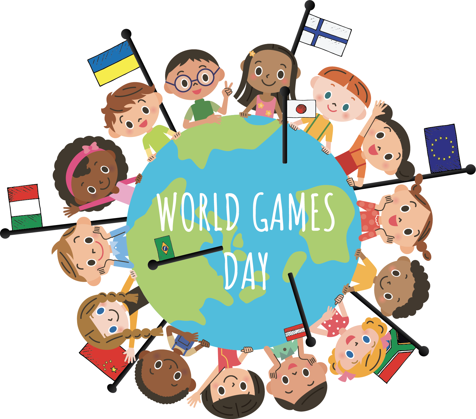 Pe clipart cooperative learning. Small earth games world