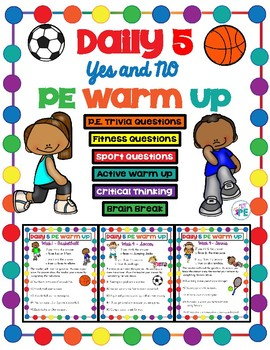 Elementary yes or no. Pe clipart exercise time