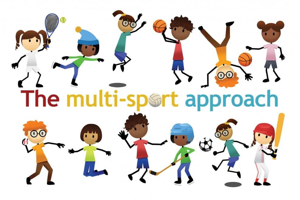 Pe clipart multi sport. The approach download and
