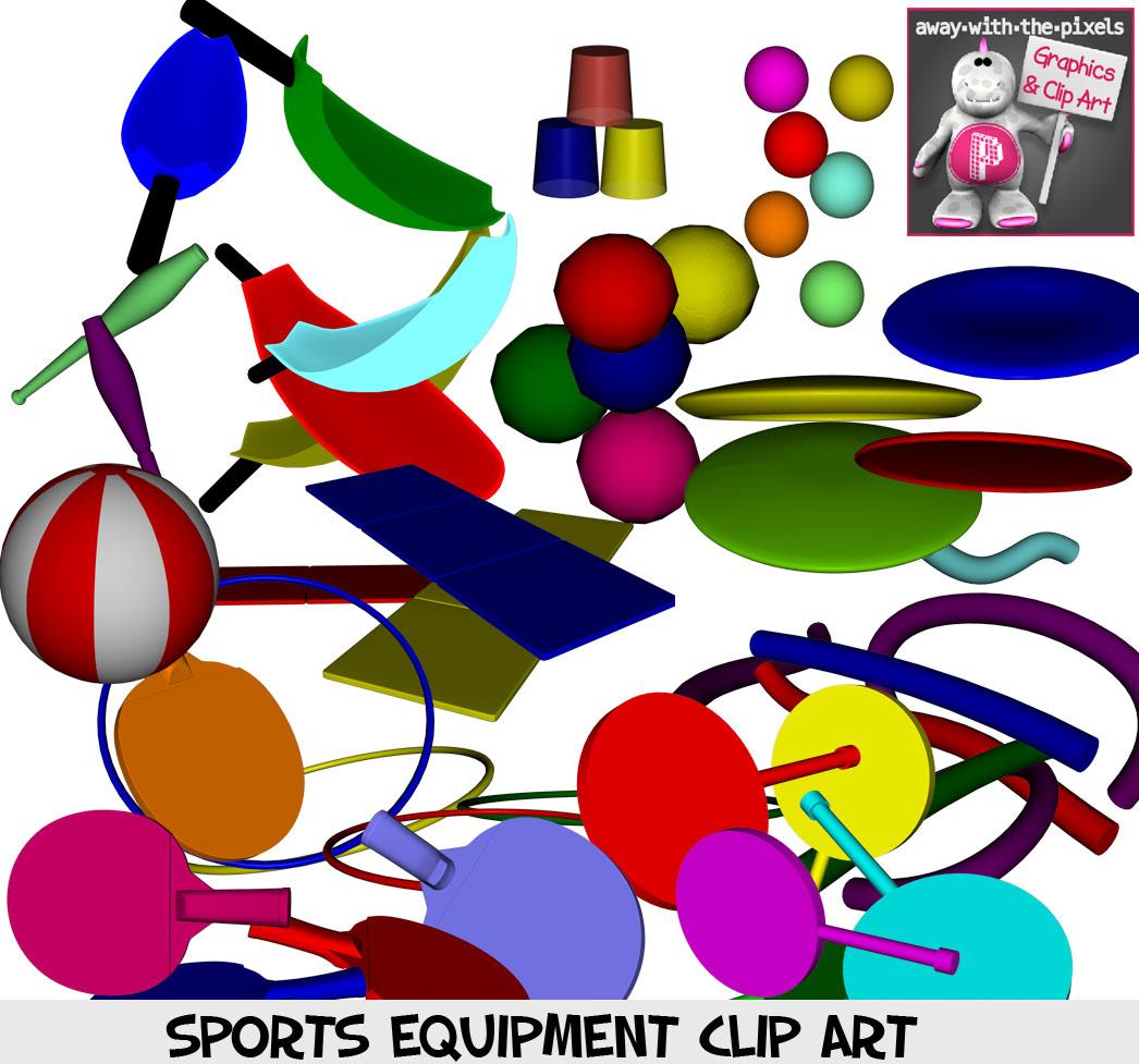 Pe clipart pe equipment. Sports kids for teachers