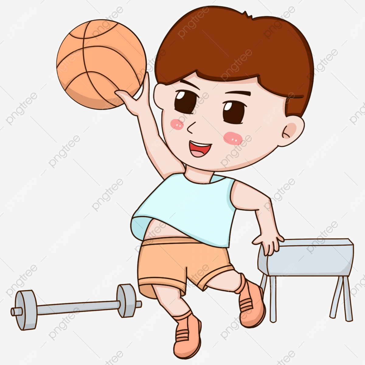 Pe clipart physical work. Education motion boy out