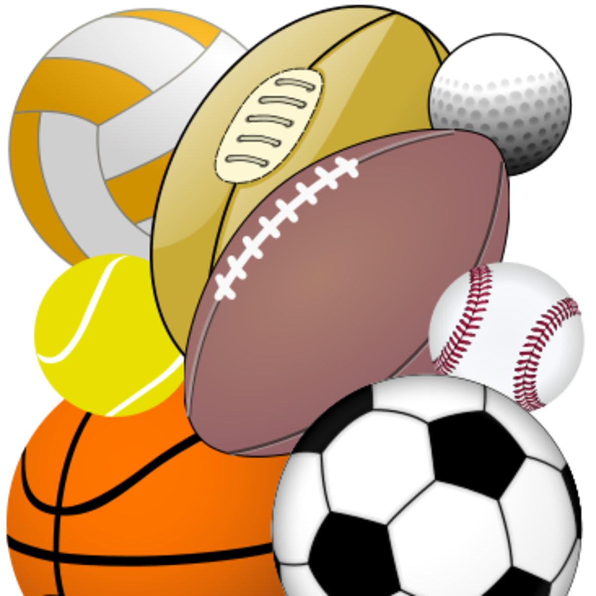 Sports equipment physical education. Pe clipart sport facility