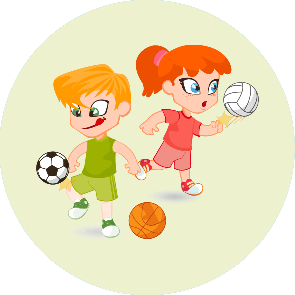 Pe clipart sport facility. Playgrounds misr american college