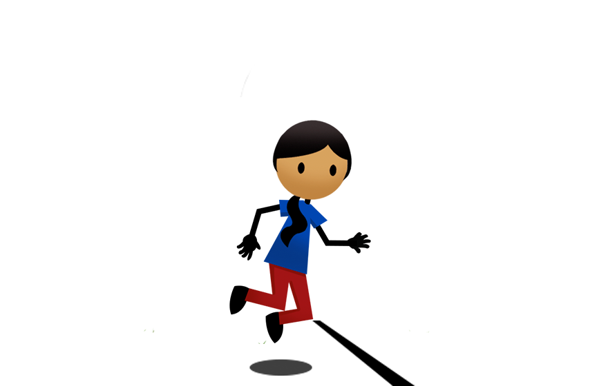 Pe clipart underhand throw. Hopscotch drawn in the