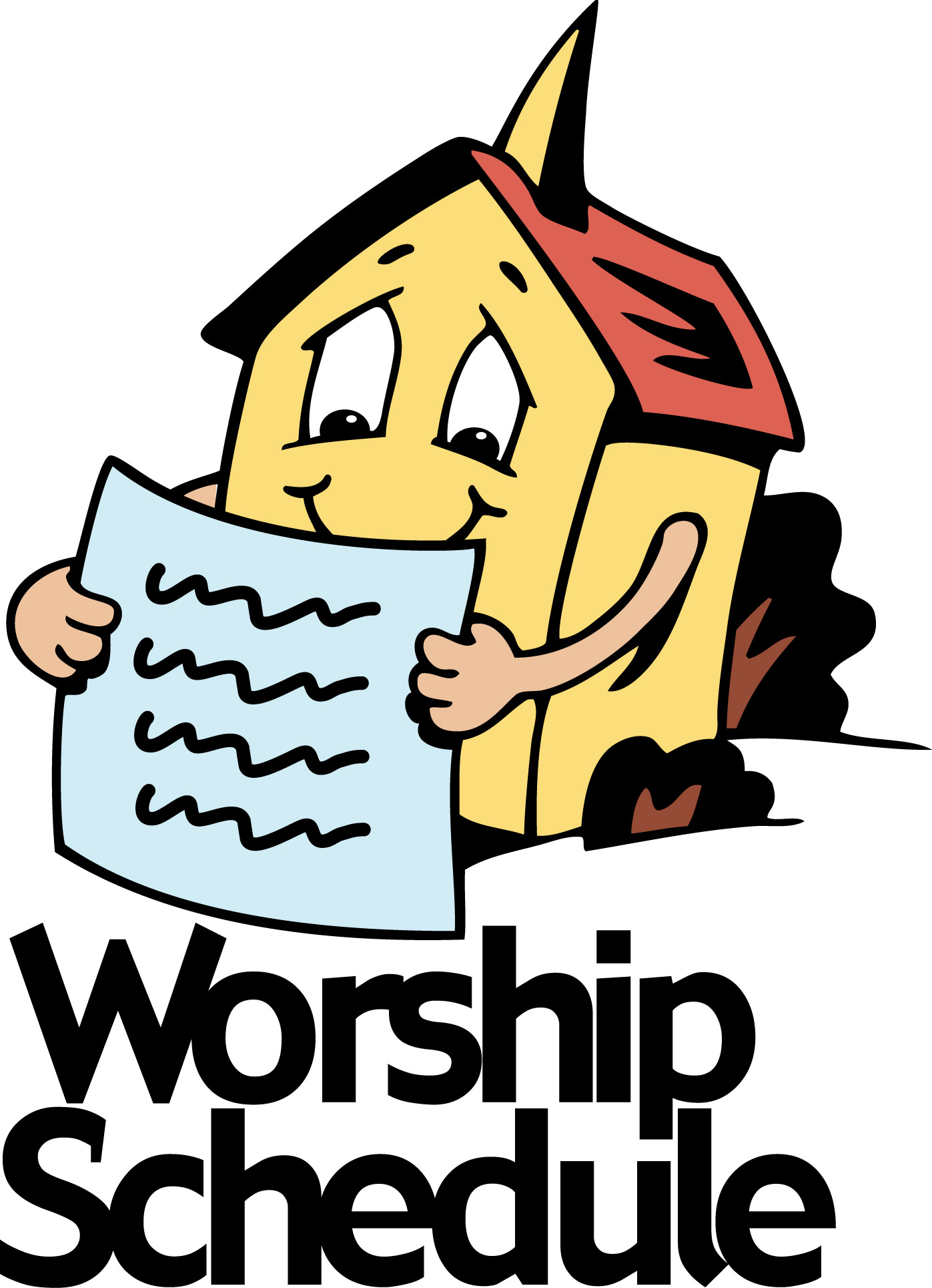Peace clipart church. Lutheran monthly worship schedule