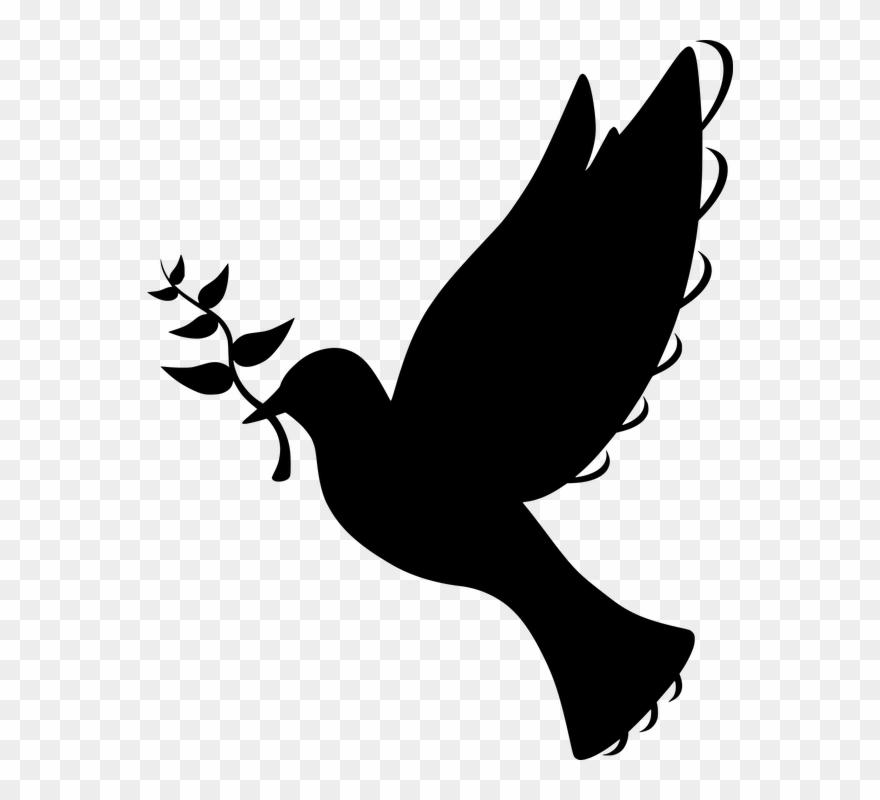 Free photo silhouette symbol. Peace clipart church
