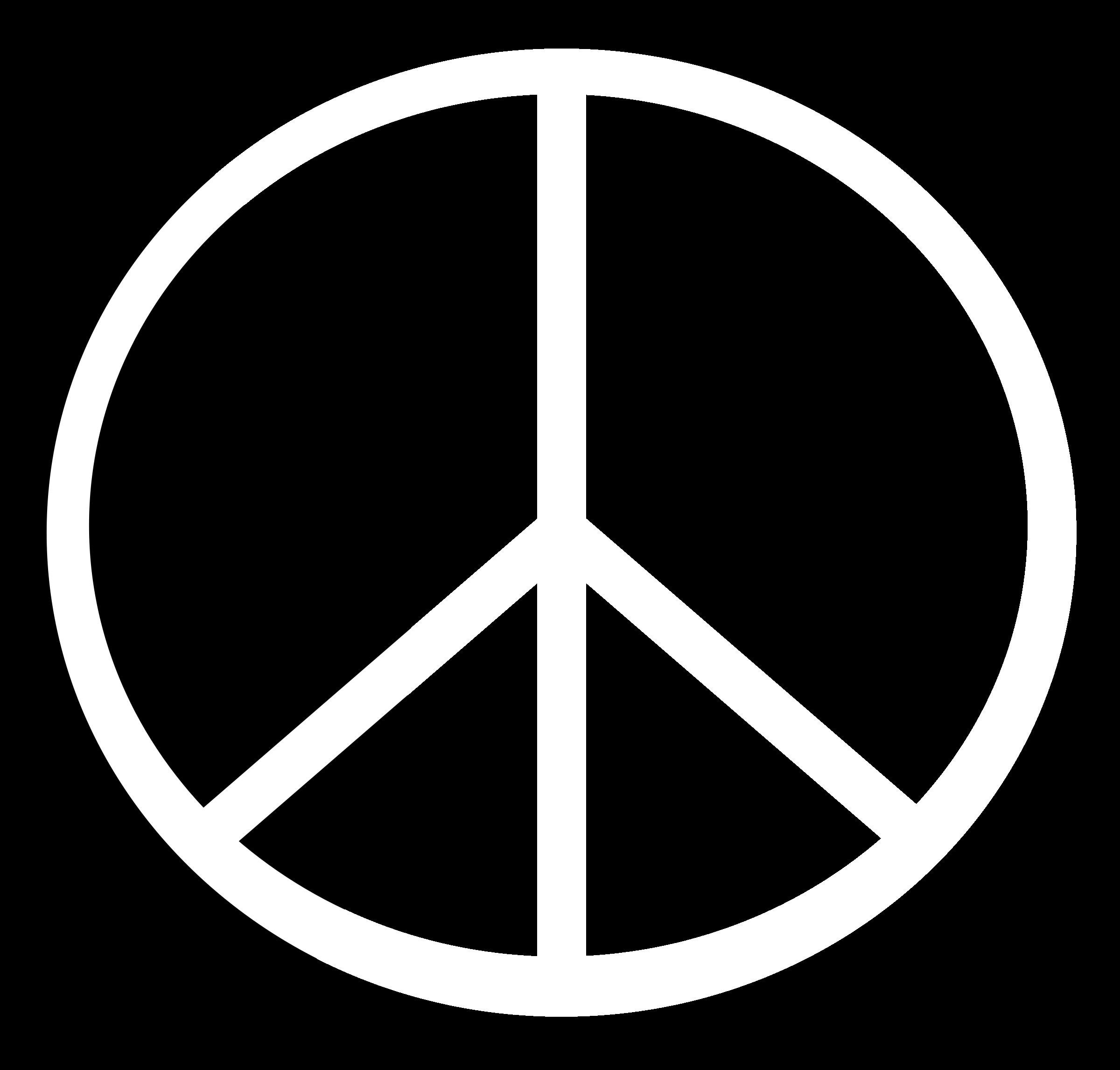 Symbol petri lum big. Peace clipart free font
