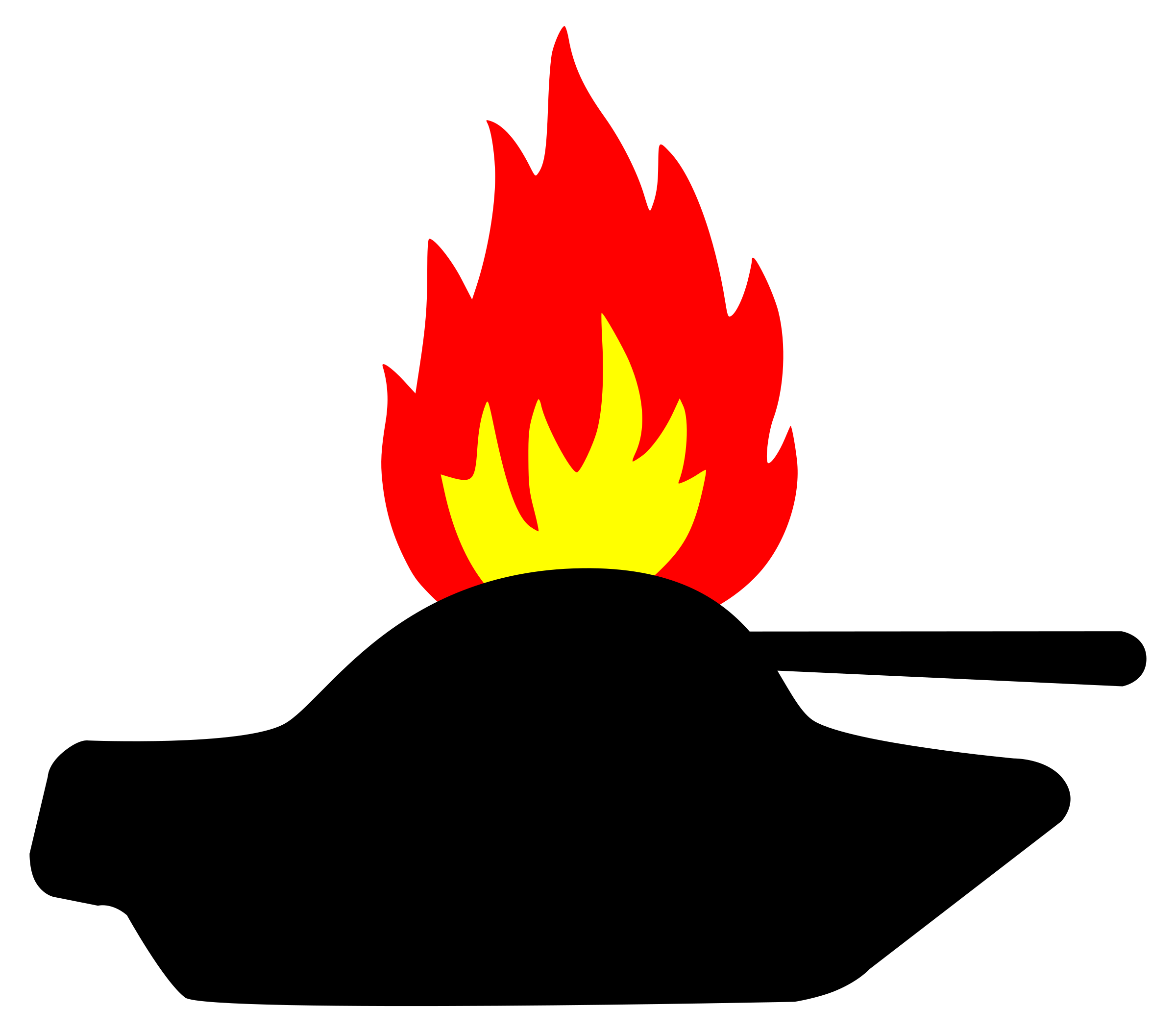 Peace clipart imperialism. Burning tank big image