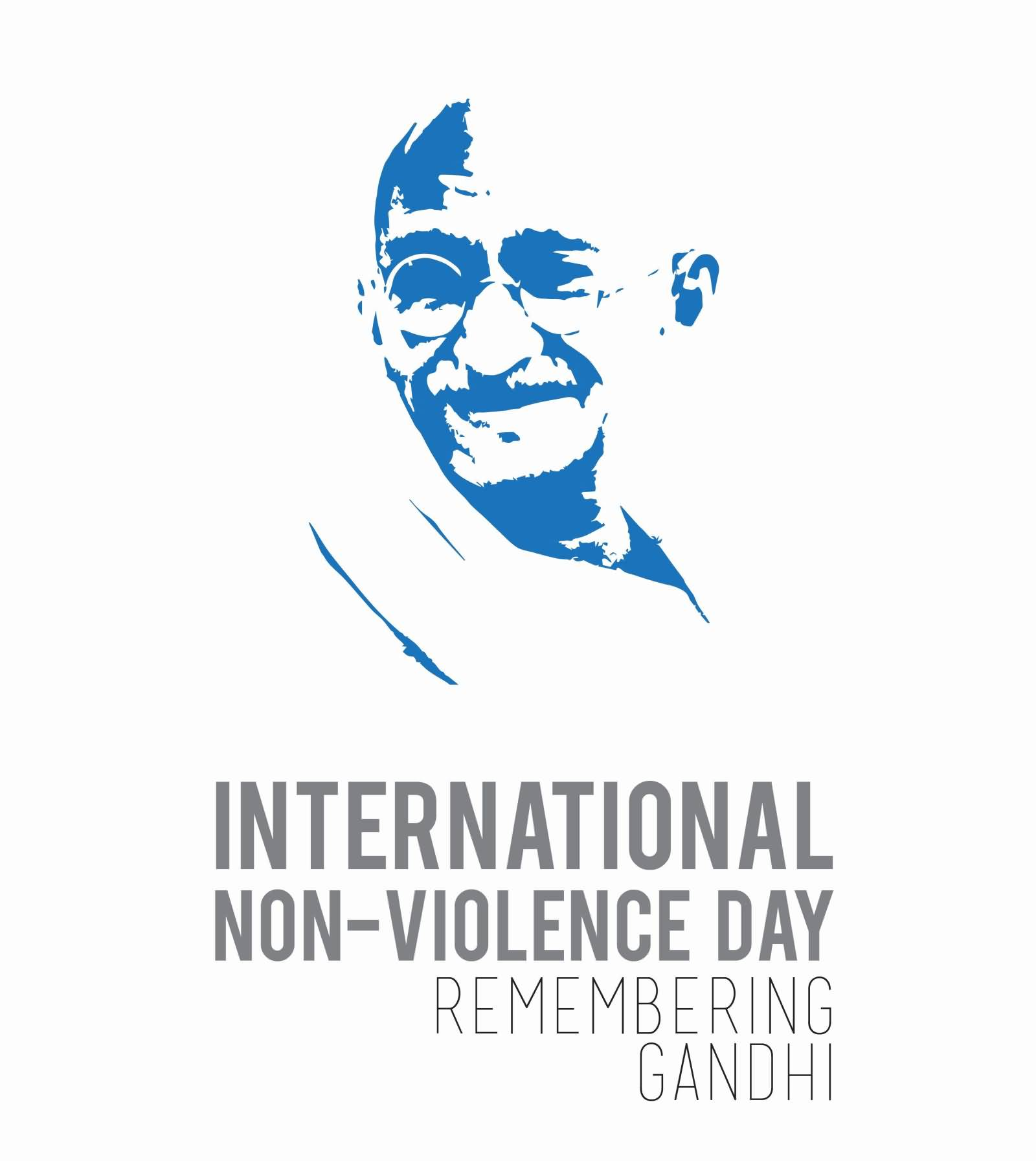 Peace clipart non violence.  international day of