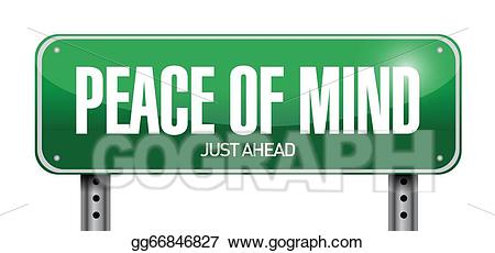 Peace clipart peace mind. Vector of road sign
