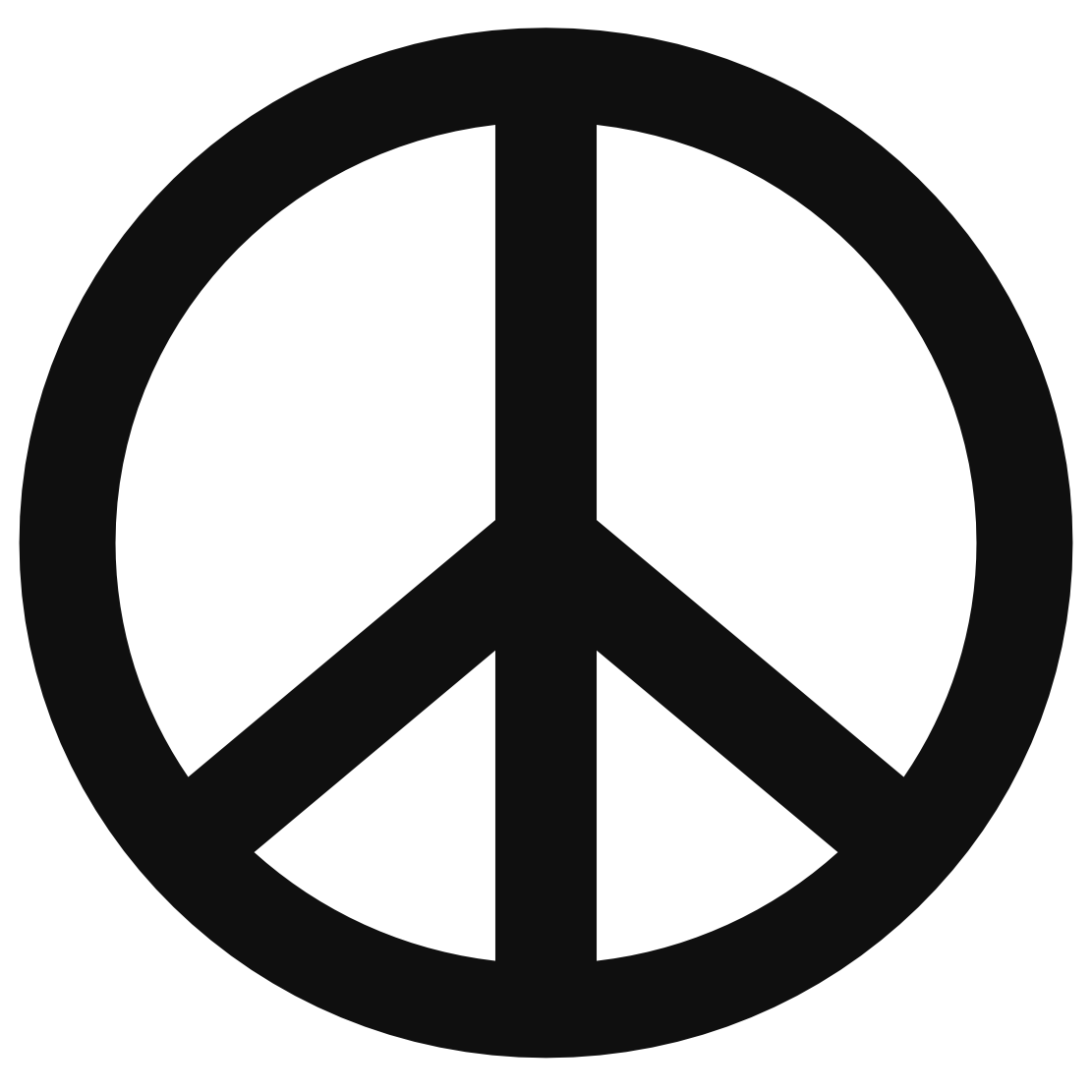 Templates clipartix. Peace clipart peace sign