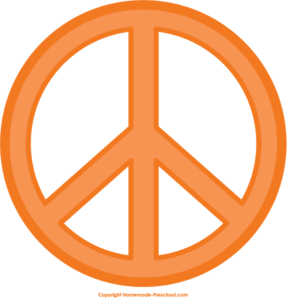 Free . Peace clipart peace sign