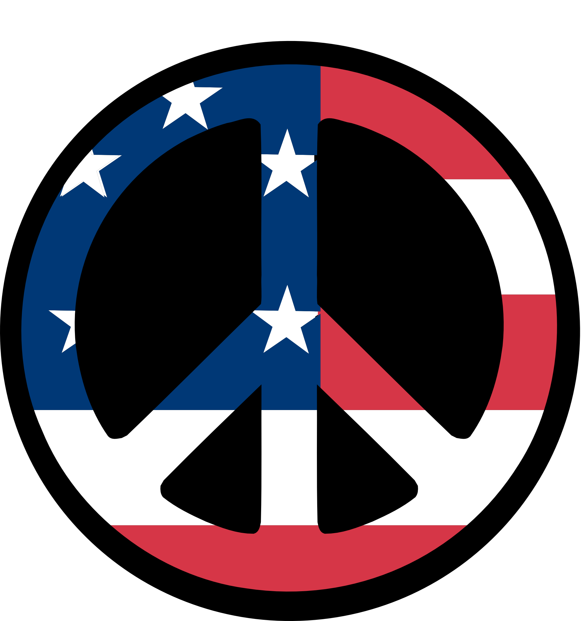 Peace clipart peaceful life. Signs images us flag