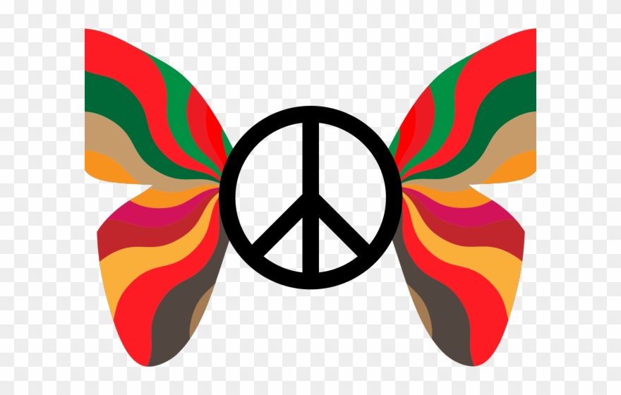 Peace clipart retro. Sign index in visual