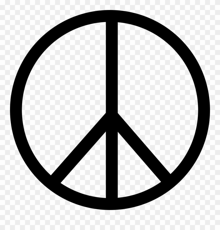 Symbol sign png download. Peace clipart retro