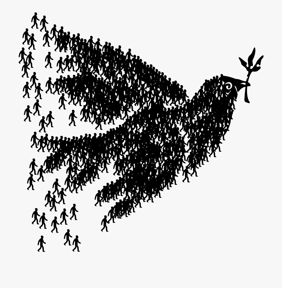 People free . Peace clipart small dove