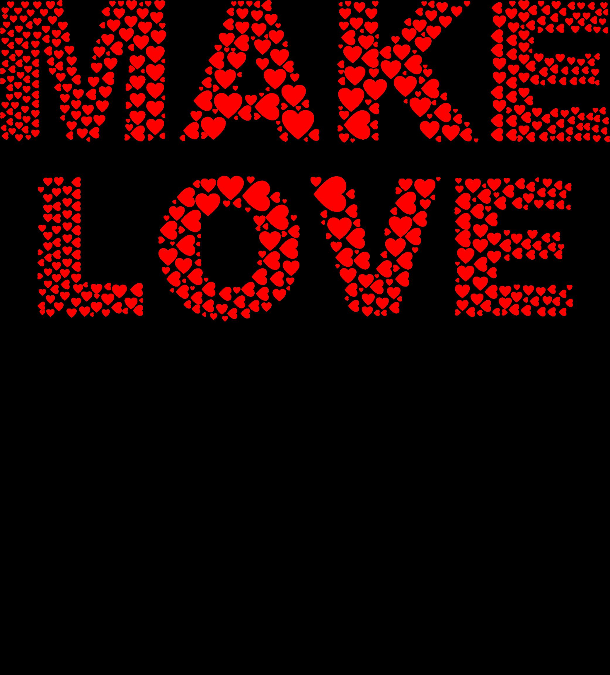 Peace clipart word wisdom. Make love not war