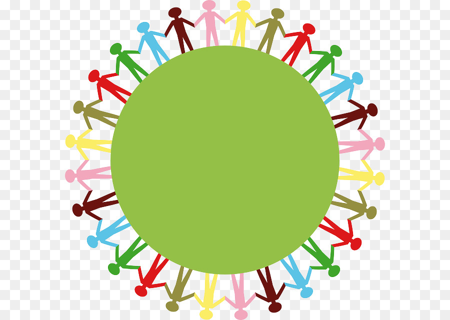Green circle line transparent. Peace clipart world peace