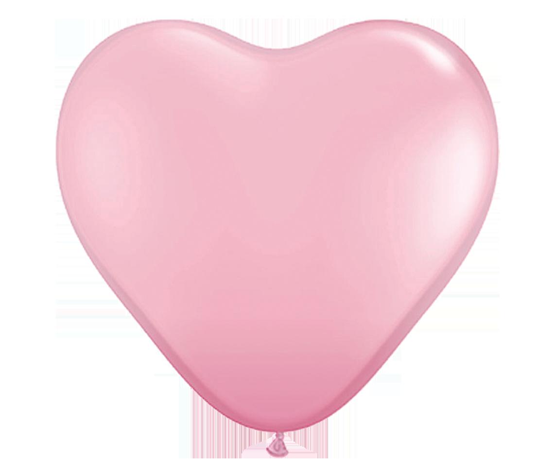 extra large heart. Peach clipart balloon