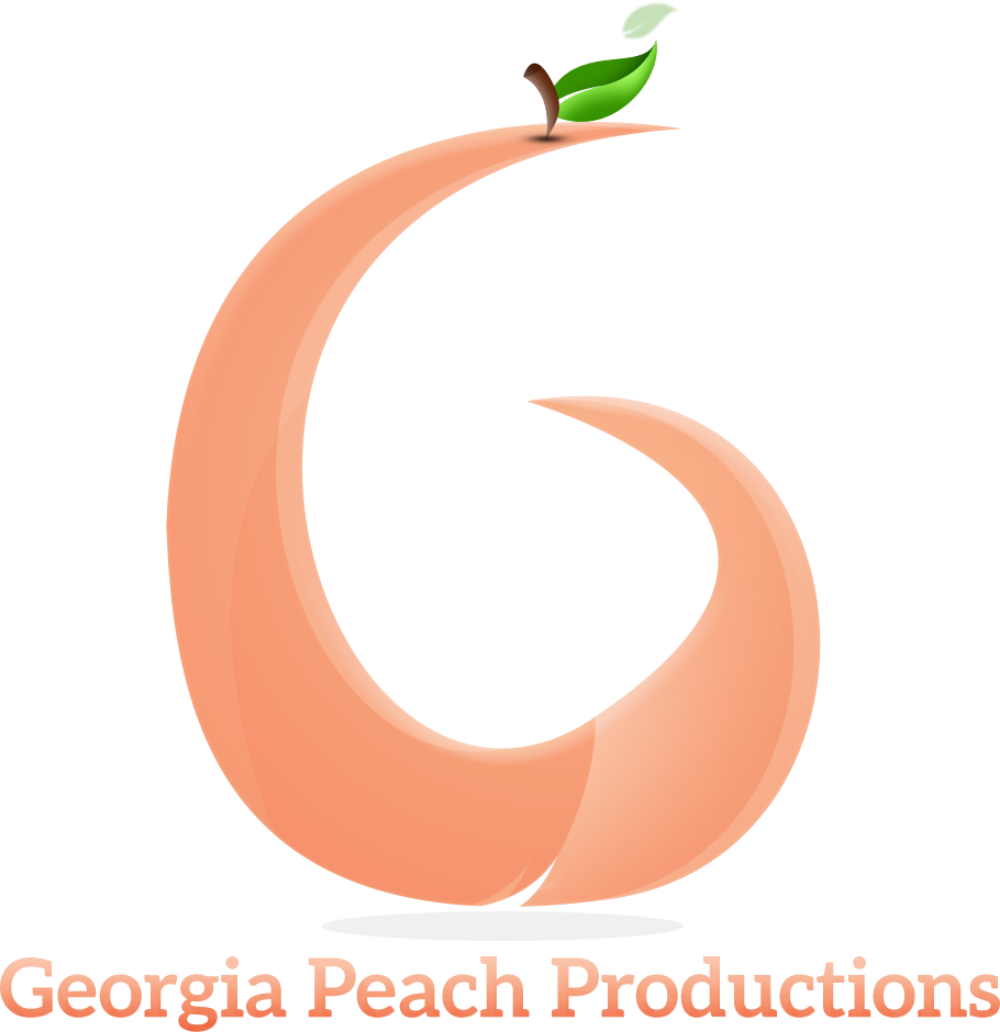 Peach clipart georgia peach. Productionsgeorgia productions