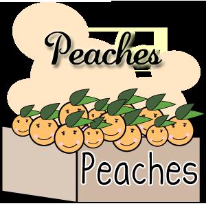 Peach clipart happy. Clip art related keywords