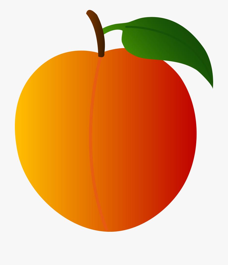 Clip art free transparent. Peach clipart peach fruit