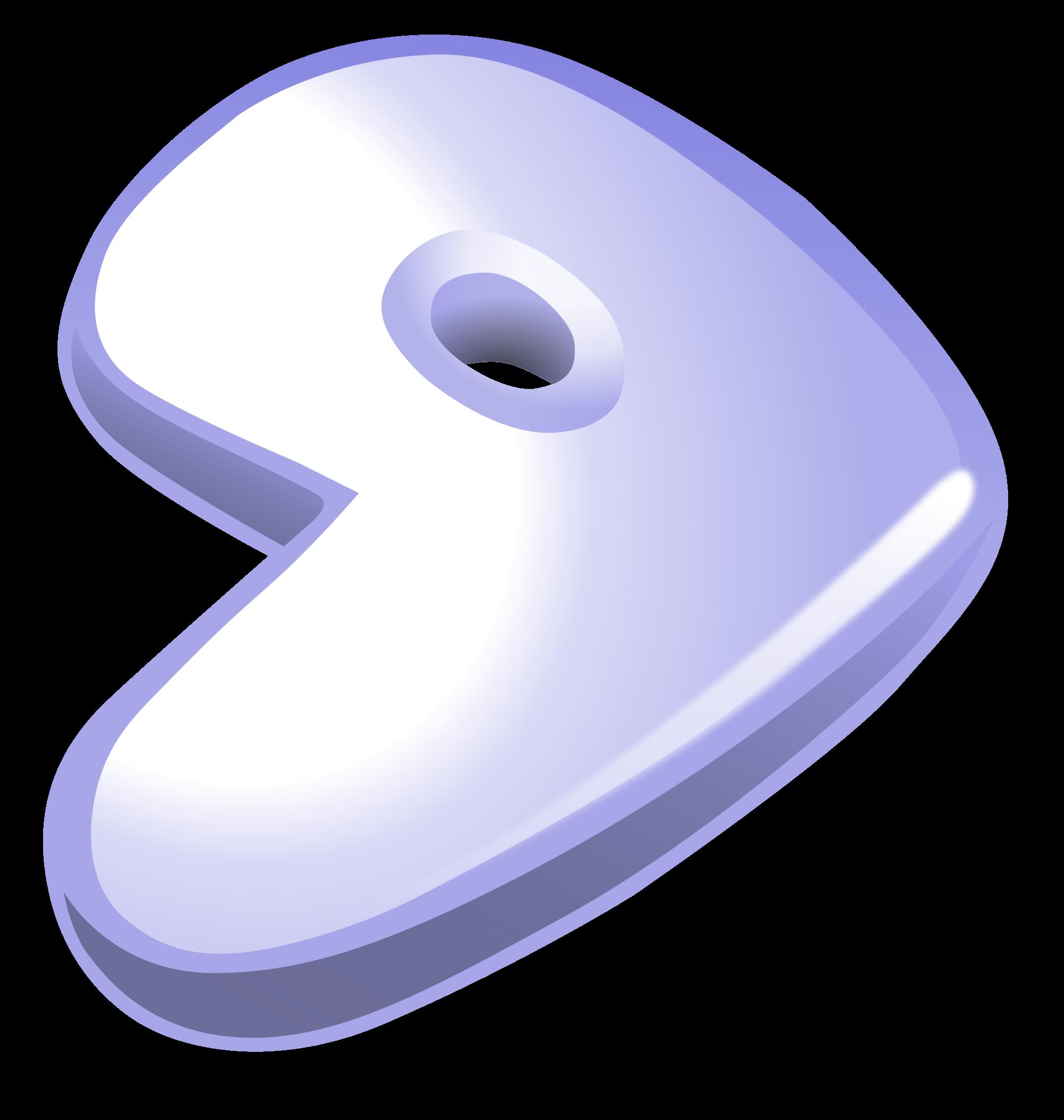 File gentoo logo plain. Peach clipart svg